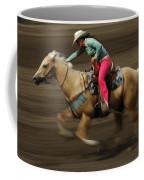 Rodeo Riding A Hurricane 2 Coffee Mug