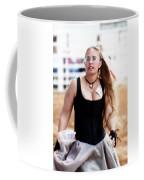 Rodeo Saloon Girl Dancing Coffee Mug