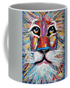 Rodney Abstract Lion Coffee Mug