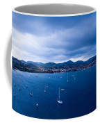 Rodney Bay Morning Blues Coffee Mug