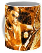 Roger Federer Clay Coffee Mug