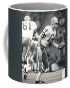 Roger Staubach Passing The Ball Coffee Mug