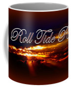Roll Tide Roll W Red Border - Alabama Coffee Mug