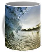 Rolled Gold Coffee Mug by Sean Davey