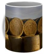 Rolled Hay   #1056 Coffee Mug