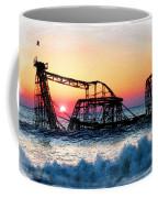 Roller Coaster After Sandy Coffee Mug by Tony Rubino