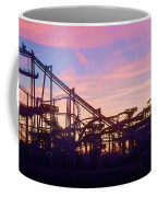 Roller Coaster At The  Nj Shore Coffee Mug