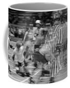 Women's Roller Derby Motion Blur Coffee Mug