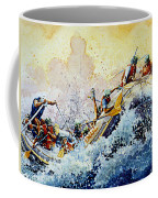 Rollin' Down The River Coffee Mug by Hanne Lore Koehler