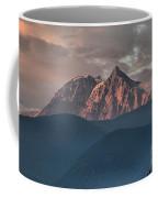 Rolling Hills And Purple Tantalus Peaks Coffee Mug