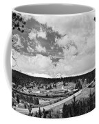 Rollinsville Colorado Small Town 181 In Black And White Coffee Mug