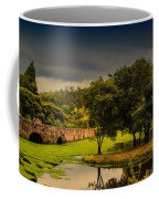 Roman Bridge By The Lake Coffee Mug