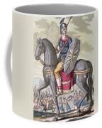 Roman Cavalryman Of The State Army Coffee Mug