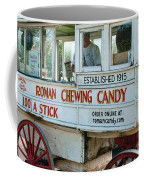 Roman Chewing Candy Wagon In New Orleans Coffee Mug