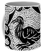 Roman Mosaic Bird Coffee Mug by Mair Hunt