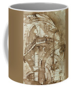 Roman Prison Coffee Mug by Giovanni Battista Piranesi
