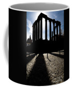 Roman Temple Silhouette Coffee Mug