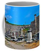 Roman Theatre In Pergamum-turkey  Coffee Mug