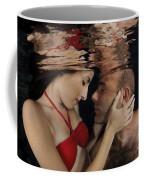 Romantic Couple Underwater Coffee Mug