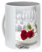 Romantic Dinner Setting Coffee Mug by Elena Elisseeva