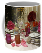 Romantic Dinner Setting Coffee Mug
