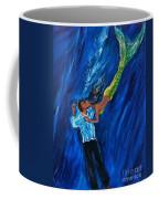 Romantic Rescue Coffee Mug by Leslie Allen