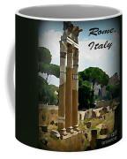 Rome Italy Poster Coffee Mug