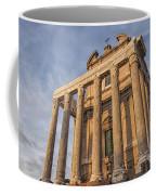 Rome Temple Of Antoninus And Faustina 01 Coffee Mug