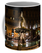 Rome's Fabulous Fountains - Fontana Del Tritone Coffee Mug