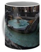 Rome's Fabulous Fountains - Fontana Della Barcaccia - Spanish Steps  Coffee Mug