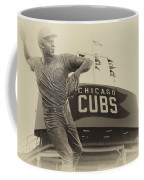 Ron Santo Chicago Cub Statue In Heirloom Finish Coffee Mug
