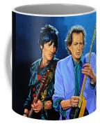 Ron Wood And Keith Richards Coffee Mug