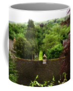 Roof Tops In Countryside Scenery With Trees - Peak District - England Coffee Mug