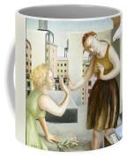 Rooftop Annunciation One Coffee Mug by Caroline Jennings