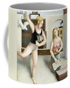 Rooftop Annunciation Two Coffee Mug