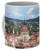 Rooftop Of Parliament Building In Budapest Coffee Mug