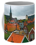 Rooftops From Our Host's Apartment In Enkhuizen-netherlands Coffee Mug
