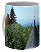 Rooftops Of Carcassonne Coffee Mug