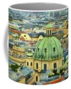 Rooftops Of Vienna Coffee Mug