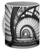 Rookery Building Oriel Staircase - Black And White Coffee Mug