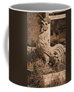 Rooster At The Big Chicken Barn Coffee Mug