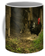 Rooster In The Hen House Coffee Mug