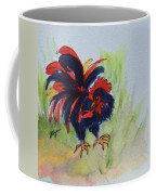 Rooster - Red And Black Rooster Coffee Mug