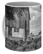 Rooster Turf Monochrome Coffee Mug