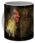 Rooster With Brush Calligraphy Loyalty Coffee Mug