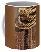 Rope And Net Coffee Mug