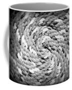 Rope Black And White Coffee Mug