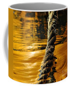 Rope On Liquid Gold Coffee Mug