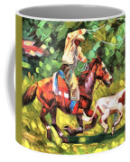 Roping A Runaway Coffee Mug