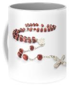 Rosary Beads Coffee Mug by Jose Elias - Sofia Pereira